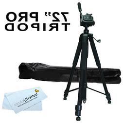 PRO 72-inch TRIPOD FOR All Canon Sony, Nikon, Samsung, Panas