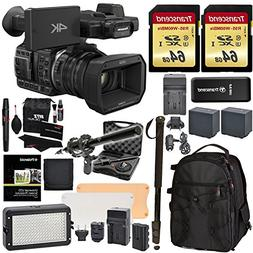Panasonic HC-X1000 4K-60p/50p Camcorder with High-Powered 20