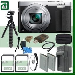 Panasonic Lumix DMC-ZS50 Digital Camera  + 64GB Green's Came