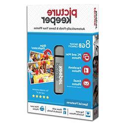 Picture Keeper Portable Flash Drive Photo Backup USB Drive 8