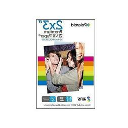 Polaroid 2x3ʺ Premium ZINK Zero Photo Paper 50-Pack - Compa