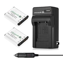 Powerextra 2x NP-45A NP-45B NP-45S Battery and Charger Compa