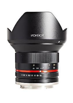 Rokinon 12mm F2.0 NCS CS Ultra Wide Angle Fixed Lens for Oly