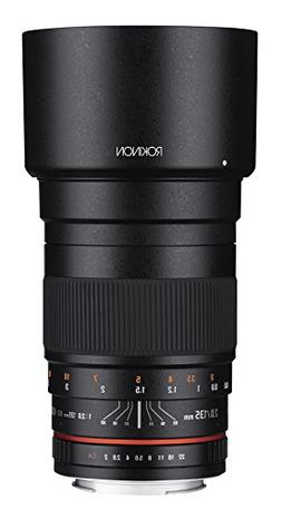 Rokinon 135mm F2.0 ED UMC Telephoto Lens for Sony E-Mount  I
