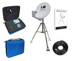 "Satellite Oasis Directv 18"" Satellite Dish Rv Tripod Kit"