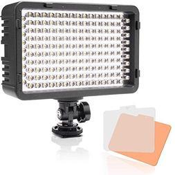 Selens 168 LED Dimmable Ultra High Power Panel Digital Camer