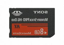 Sony 8GB MS PRO-HG DUO HX High Speed Memory Stick