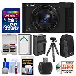 Sony Cyber-Shot DSC-HX90V Wi-Fi GPS Digital Camera with 32GB
