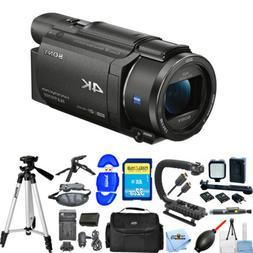 Sony FDR-AX53 4K Ultra HD Handycam Camcorder  Extra Battery