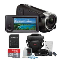 Sony HDR-CX440/B Full HD Video Handycam Camcorder w/Sony 16G
