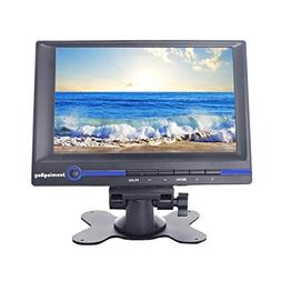 Sourcingbay 7 Inch HD TFT LCD Monitor 800x480 16:9 Built-in