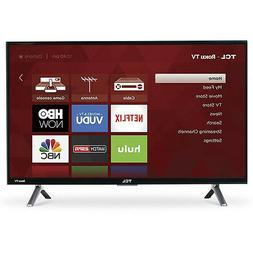 """TCL 49"""" 4K Ultra HD 120Hz HDR Roku Smart TV 2017 Model with"""