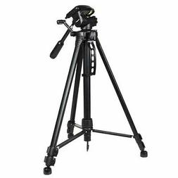 Targus 3-Way Panhead Bubble Level Tripod, 58-Inch