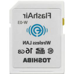 Toshiba Flash Air III Wireless SD Memory Card 16GB