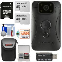 Transcend 32GB DrivePro Body 10 Clip-On Camera