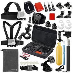 Vanwalk Sport camera Accessories Kit for Gopro Hero 5, Sessi