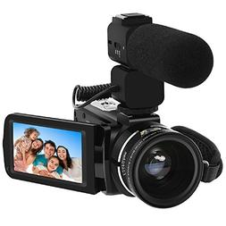 Video Camera, LAKASARA Full HD 1080P 30FPS WIFI Camera Camco