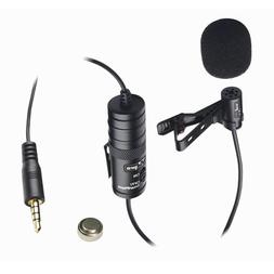 Vidpro XM-L Wired Lavalier microphone - 20' Audio Cable - Tr