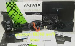 Vivitar - 4K Action Camera with Remote - Black
