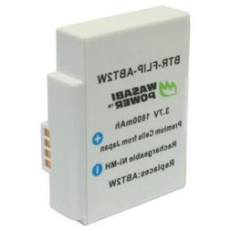 Wasabi Power ABT2W Battery Pack for Select Flip Video Camera