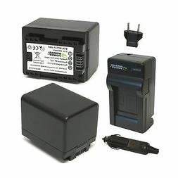 Wasabi Power Battery  and Charger for Canon BP-727, CG-700 a