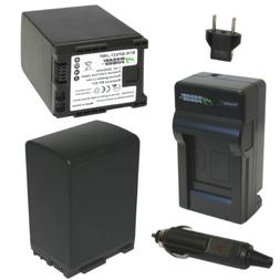 Wasabi Power Battery  and Charger for Canon BP-827 and Canon
