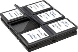 XIT XTMCASE 12 Piece SD/SDHC Memory Card Hard Plastic Case