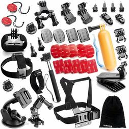 Zookki Sports Accessories Kit for GoPro 6 HERO5 Black 4 Silv