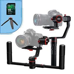 FeiyuTech a2000 Dual Grip Handle Kit for DSLR Camera, Foldab