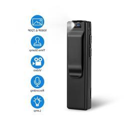 Boblov A3 Mini Digital Camera HD Law Enforcement Cam Magneti