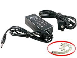 iTEKIRO AC Adapter Power Supply Cord for Canon Optura 400, O