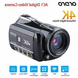 ORDRO AC1 4K WIFI 24MP Infrared Digital  Video Camera CMOS 3