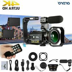 ORDRO AC3 Digital 4K Camera WiFi Professional Infrared Video