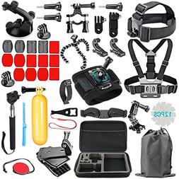 RayHom Outdoor Sports Camera Accessory Kit for GoPro Hero 5/