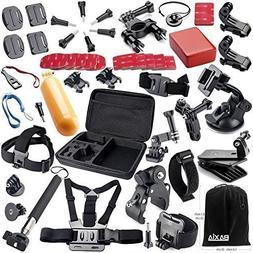 Zoukfox Camera Accessory Kit in Skiing Swimming Surfing Clim