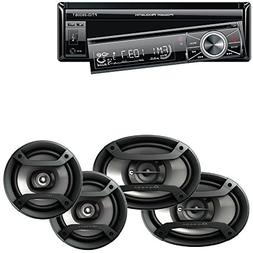 Power Acoustik 7″ Single Din in-Dash Flip-up AM/FM/DVD/USB