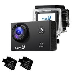 Vemico Action Camera 4K WIFI Full HD 1080P Waterproof Helmet