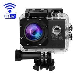 Action Camera,OUTAD 4K Ultra 1080P HD WiFi Waterproof Sports