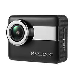 DOMEZAN  Action Camera N6, Touchscreen Sports Camera Image S