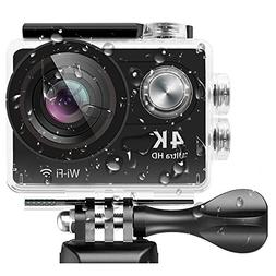 4K Action Camera,Banne 4D3 Ultra HD Waterproof DV Camcorder