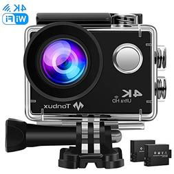 TONBUX Action Camera 17MP 1080P HD WiFi Waterproof Sports Ca