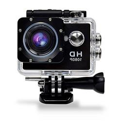 GBB Sport Action Ultra HD 1080P Digital Camera Waterproof Ca