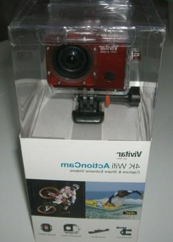 Vivitar Action Video Cam 4K WIFI camera Waterproof Mount Spo