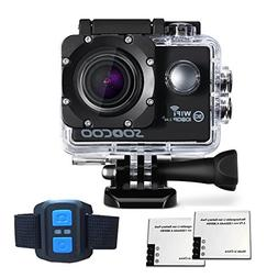 WiFi Action Camera, SOOCOO FHD 1080P 170 Degree Wide Angle L