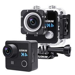 Action Camera 4K Underwater Waterproof Camera 20MP Sony Sens