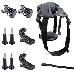 GBB Adjustable Dog Harness, Chest Belt Strap Mount, Sport Ca