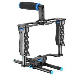 Neewer Alluminum Video Cage Kit for Nikon Canon 5D Mark II a
