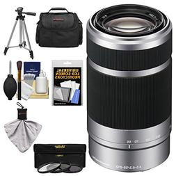 Sony Alpha E-Mount 55-210mm f/4.5-6.3 OSS Zoom Lens with 3 U