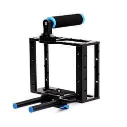 Dazzne Aluminum Alloy Camera Cage Video Rig Film Movie Makin