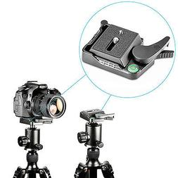 Neewer Aluminum Alloy Quick Release QR Plate Adapter with 1/